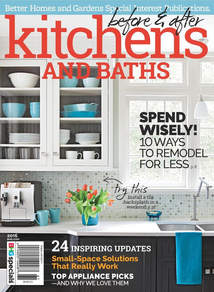 our design team featured in better homes and gardens