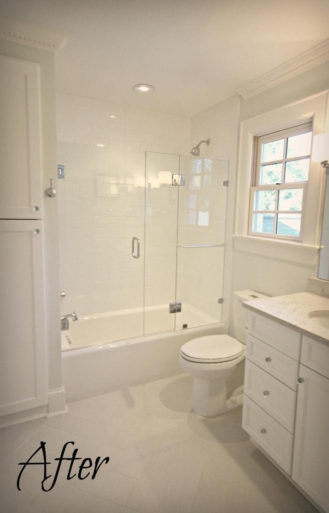 Myers Park Bathroom: Before & After   Guthmann Construction