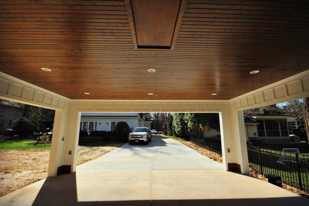 Custom Carport For Historic Myers Park Home Guthmann