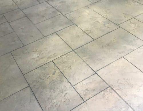 Concrete Finish Looks Like Patio Tile