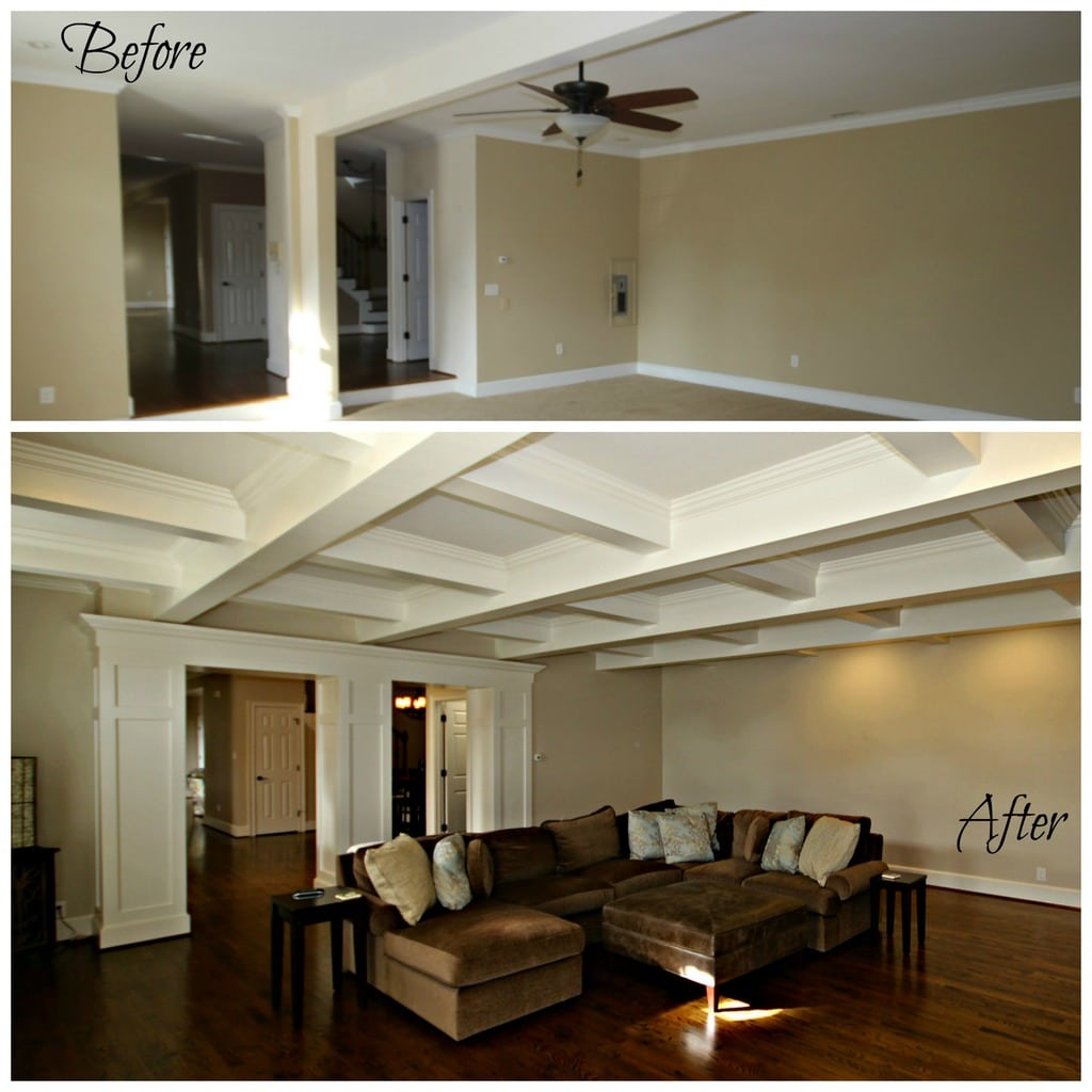 Look Up New Coffered Ceilings Guthmann Construction