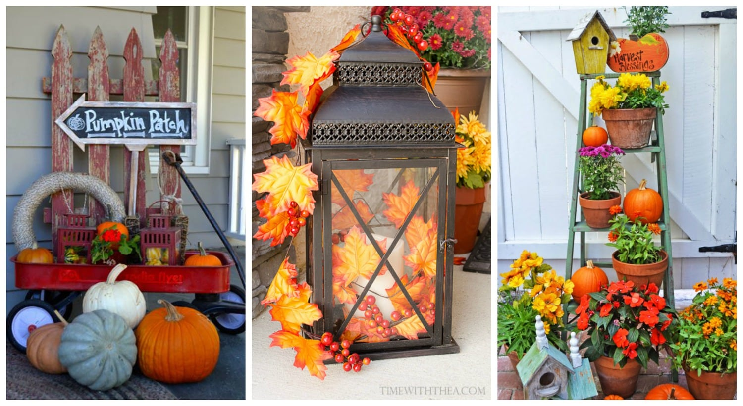 Front Porch Ideas For Celebrating