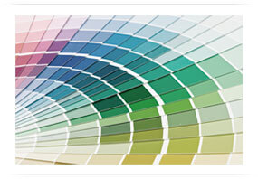 Paint Swatches for Design