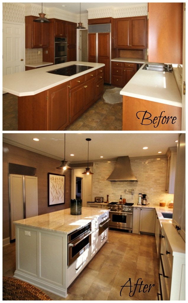 Before And After Small Kitchen: Before & After: Kitchen Renovation