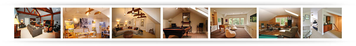 Guthmann Construction | Attic Spaces | Charlotte-NC
