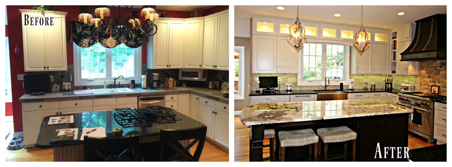 Fabulous Before After Kitchen Renovation Guthmann Construction Best Image Libraries Thycampuscom