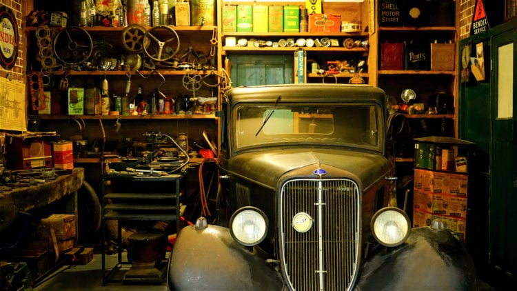 Get a Spotless, Beautifully Organized Garage