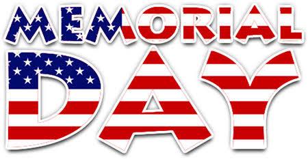 Closed in honor of Memorial Day