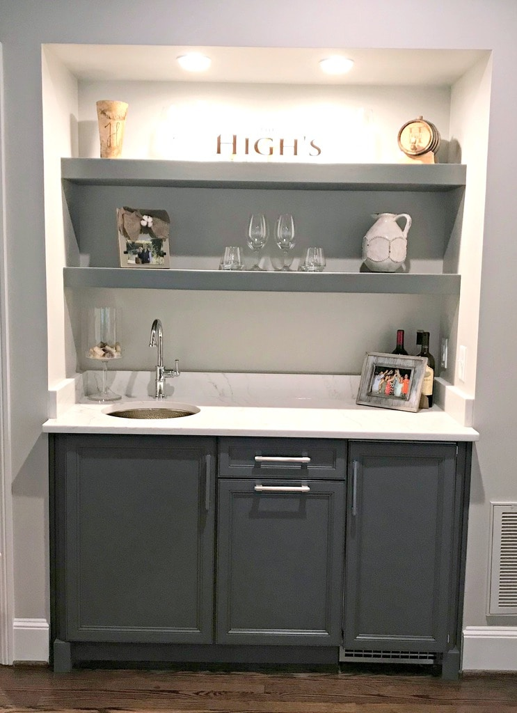 Wet Bar Remodel